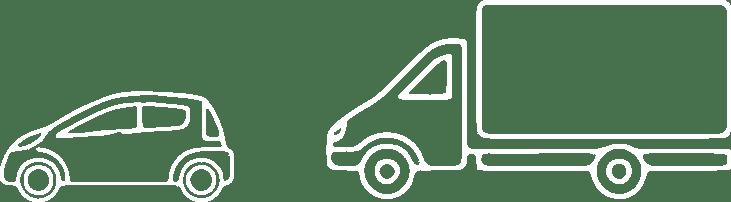 STADTBOTE Fahrzeugflotte - Grafik