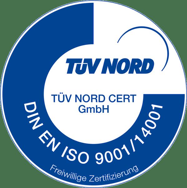 Logo Tüv Nord Zertifizierung